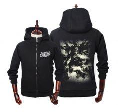 League of Legends hoodies Jarvan Ⅳ printed sweatshirts black