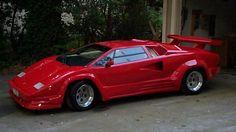 Lamborghini Countach...my favorite car when I was a kid.