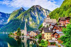Shirakawa Go, Austria, Portugal, Belleza Natural, Half Dome, Mountains, Nature, Travel, Lisbon