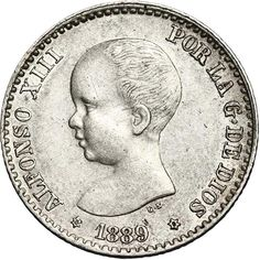 50 céntimos (1889)(*18-89) Madrid MP M - MBC