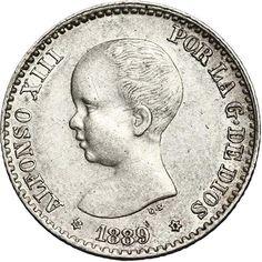 50 céntimos (1889)(*18-89) Madrid MP M - MBC