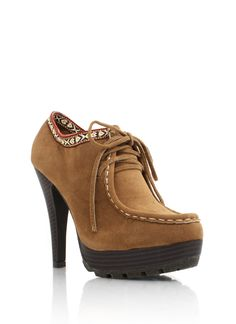 printed accent booties $30.80