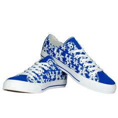 Women's Row One Kentucky Wildcats Oxford Lace-Up Sneakers