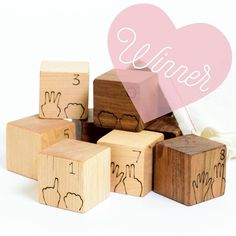 We've selected a winner of this week's Holiday Giveaway feat. our wooden counting blocks! Congratulations to winner @annaleeolthof!!!   Stay tuned for more giveaways. Thanks to all who participated and best of luck next time!  #shopsmall #seattle #madeinseattle #handmade #woodentoys #ecofriendly #childhoodunplugged #letthembelittle #toddlerlife #igkids #mom_hub #handcrafted #mommytobe #babygifts #nurserydecor #preschool #sensoryplay #teachpreschool #teachtoddlers #mom so fig #dadsofig…