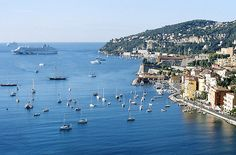 Cote d' Azur, France  This is Villefranche sur Mer.  Loved it there!!!