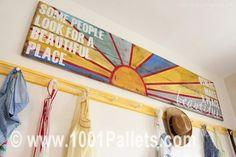 Pallet message   1001 Pallets