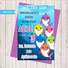 Inspire sua Festa ® | Blog sobre festas e maternidade Shark Party, Baby Boy Birthday, Baby Shark, Pastel, 3, 1st Birthday Parties, Birthday Party Boys, Over 50, Places