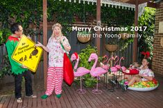 Christmas family photo 2017