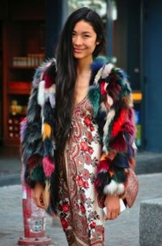 because that faux-fur is major.