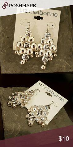 Liz Claiborne Sail away earrings Surgical steel ear wire. Liz Claiborne Jewelry Earrings