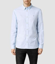 Men's Garrette Shirt (Light Grey) -
