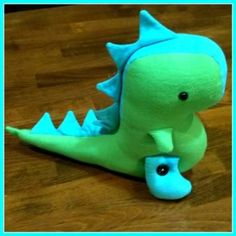 Sew a T-Rex - Hope the pattern is back up soon!
