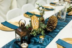 Take a stroll through a woodsy wonderland with this forest inspired wedding. See all of the vintage meets magical details on Burgh Brides! Woodsy Wedding, Camp Wedding, Wedding In The Woods, Floral Wedding, Wedding Under Trees, Twinkle Lights Wedding, Woodland Wedding Inspiration, Wedding Table Names, Sweetheart Table