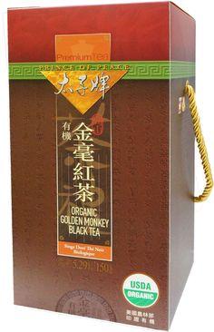 ORGANIC GOLDEN MONKEY BLACK TEA 232100P142