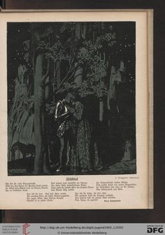 Jugend, German illustrated weekly magazine for art and life, Volume 8.1, 1903.