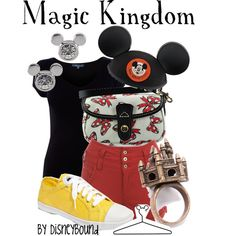 I really like this collection titled Magic Kingdom from DisneyBound.