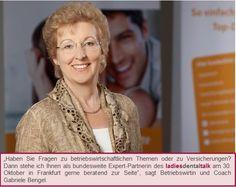 Unsere bundesweite Expert-Partnerin Gabriele Bengel wird beim 3. ladies dental talk am 30. Oktober mit dabei sein.