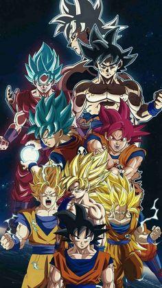 Dragon Ball no Senpai Anime! Dragon Ball Gt, Wallpaper Do Goku, Dragonball Wallpaper, Goku All Forms, Otaku, Art Anime, Anime Expo, Son Goku, Akira