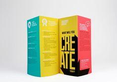 Kleurrijke brochure