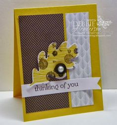 Debbie's Designs: Thinking of You Cards