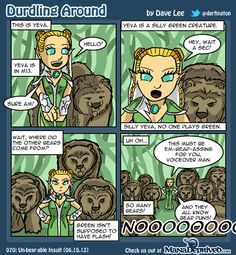 """If you don't like the puns, you'll just have to grin and """"bear"""" it..."""