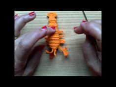 aragosta in miniatura per acquario - YouTube Knit Crochet, The Creator, Crochet Necklace, Miniature, Knitting, Youtube, Amigurumi, Crocheting, Crochet Collar