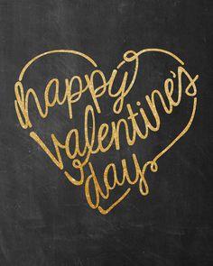 Valentine's Day Free Printable 8x10 Sign