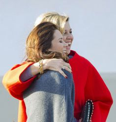 Crown Princess Mary and Queen Maxima.