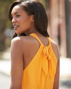Look on the bright side. Let your Stylist know you'd love bold, saturated pieces.