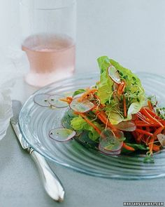 Butterhead Lettuce and Spring Vegetable Salad