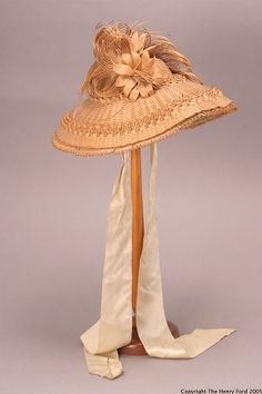 Bonnet  -  c 1850