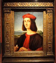 Museum of Fine Arts, Budapest Raffaello Santi (Raphael) (1483-1520) - Portrait of Pietro Bembo, 1504-6