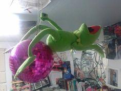 の♪♫ Wrecking Ball Kermit ---- funny pictures hilarious jokes . Sapo Kermit, Funny Kermit Memes, Hilarious Jokes, Funny Fails, Reaction Pictures, Funny Pictures, Blonde Jokes, ユーリ!!! On Ice, Blackpink Memes