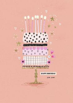 first birthday gifts Happy Birthday Art, Happy Birthday Images, Birthday Treats, Happy Birthday Greetings, Birthday Cards, Cake Birthday, Happy B Day, Birthday Celebration, Birthdays
