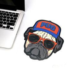 Mousepad - Pug   Fábrica9