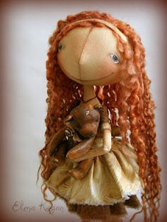 Elena Kogan's new doll