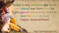 I Wish You All HAPPY JANMASHTMI and pray to God for your prosperous life May you find all the delights of life may your all dreams come true My best wishes will always be with you..