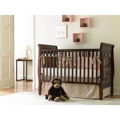 Graco Sarah Classic 4-in-1 Convertible Fixed-Side Crib, Choose Your Finish - Walmart.com