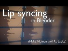 Lip syncing in Blender [TUTORIAL] - YouTube