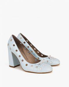 czółenka 063 -3797-NIEBIE Spring Is Coming, Peeps, Peep Toe, Shoes, Fashion, Moda, Zapatos, Shoes Outlet, Fashion Styles