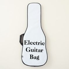 Personalized Electric Guitar Bag - monogram gifts unique custom diy personalize