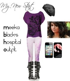 """""My New Start"" Meeka's Outfit for meeting her dad at the hospital!"" by legandrlm on Polyvore"