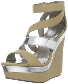 Michael Antonio Women's Garron Wedge Sandal ^^ Hurry! Check out this great product : Platform sandals