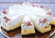 Brzo i bez pečenja: Kinder torta u četiri boje Tea Cakes, Food Cakes, No Bake Cookies, No Bake Cake, Sweet Recipes, Cake Recipes, Baked Brie Appetizer, Cheesecake Ice Cream, Kolaci I Torte