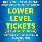 #Ticket  AFL SEMI FINAL HAWTHORN HAWKS v WESTERN BULLDOGS LOWER LEVEL TICKETS FRI 16 SEP #Australia