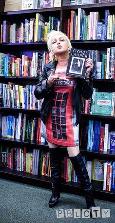 Cyndi Lauper - get her new autobio!!!