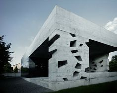 Jutted & Perforated Concrete Spaces