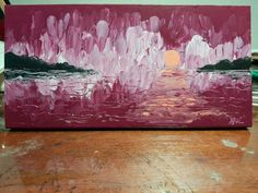 Finger Paint Art, Finger Painting, Painting Abstract, Original Paintings, My Etsy Shop, Colours, Sunset, Pretty, Wall