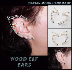 wood elf ears by nessasilverwolf