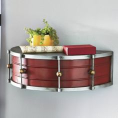 Drum Shelf from Seventh Avenue ®